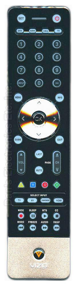 VIZIO 098003050010 TV Remote Control