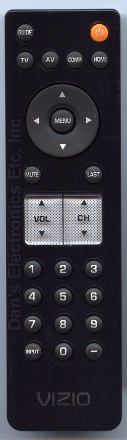 VIZIO 098003053000R TV Remote Control
