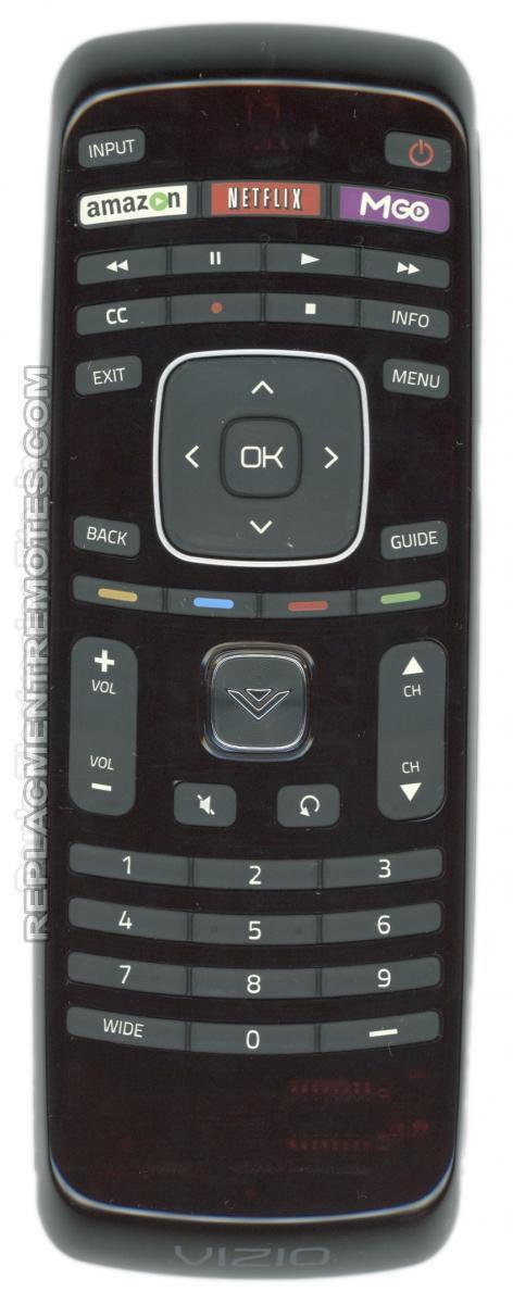 VIZIO XRT112 MGO TV Remote Control