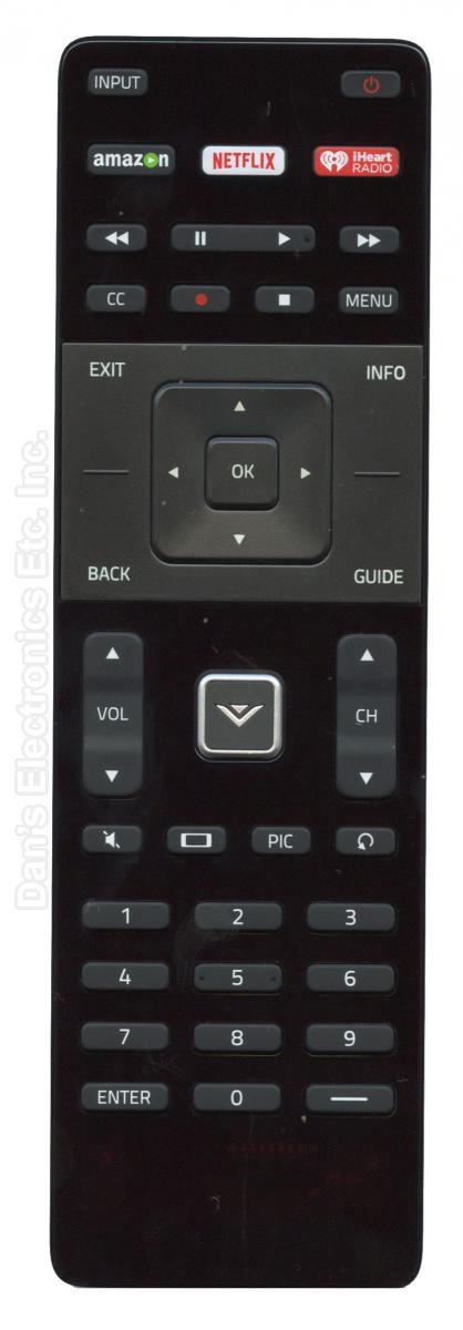 Original VIZIO XRT122 TV Remote Control.