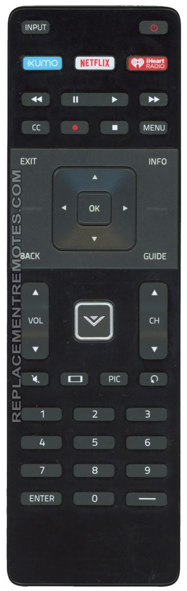 VIZIO XRT122/XUMO Remote Control