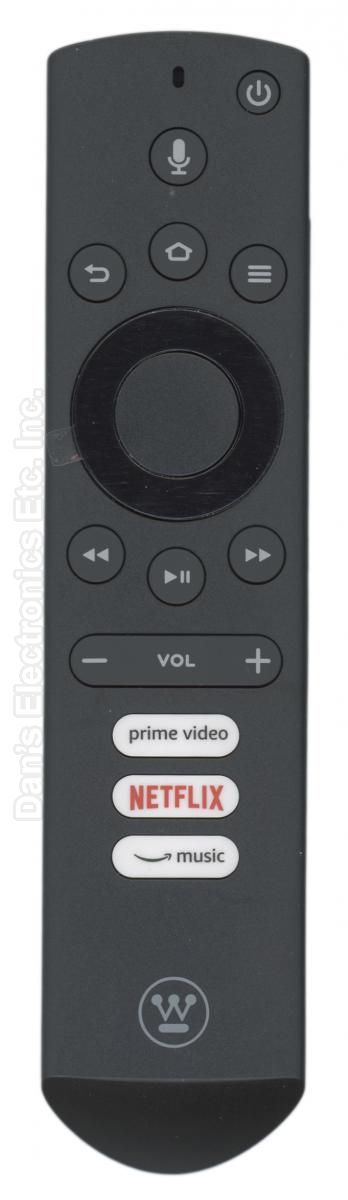 Westinghouse 84501803B02 Voice For Fire TV Remote Control