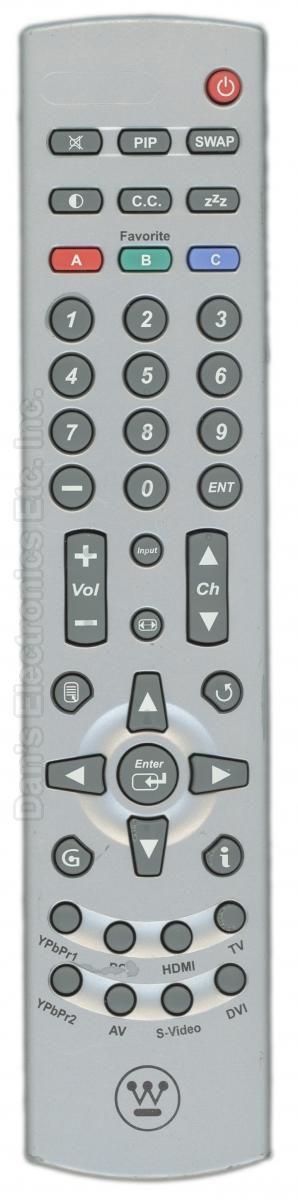 Westinghouse RMT05 TV Remote Control