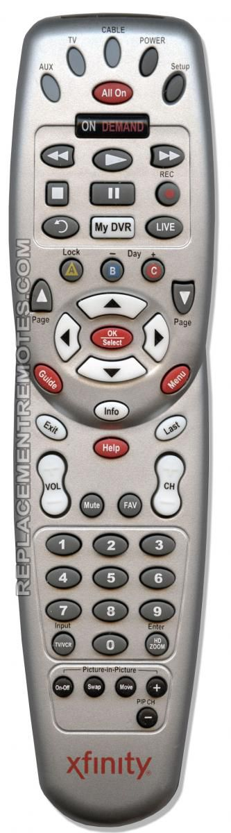... xfinity RC1475505/04SB Cable Box Remote Control  sc 1 st  Replacement Remotes & Buy TIME-WARNER ATLAS-OCAP 1056B01 -1056B01-L Cable Box Remote Control Aboutintivar.Com
