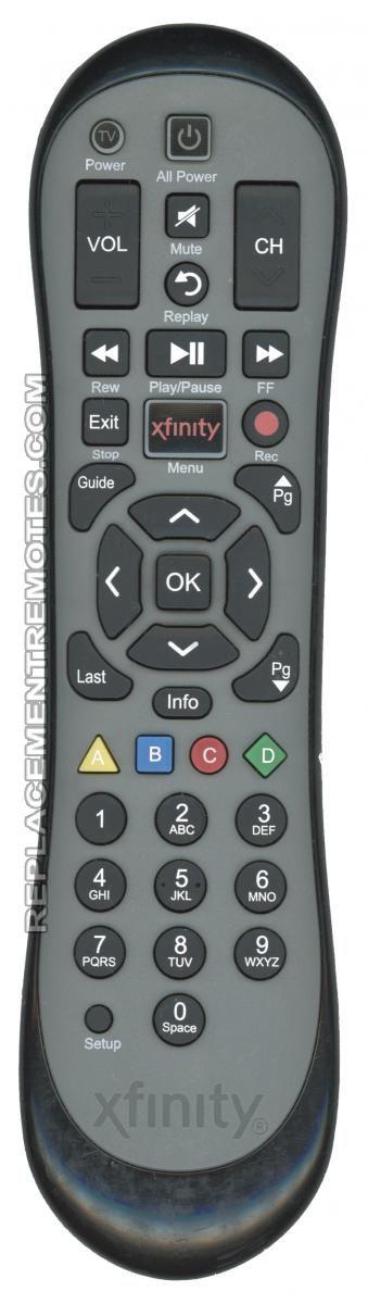 xfinity XR2 Cable Box Remote Control