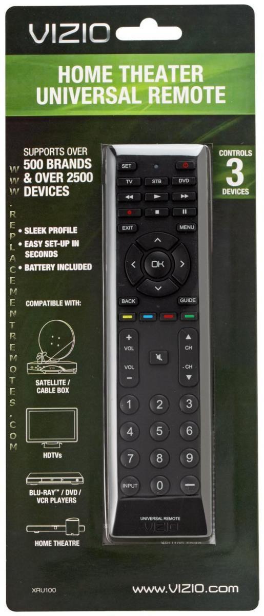 Vizio Remote Control Codes List