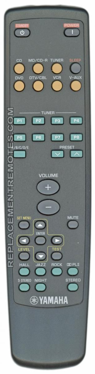 YAMAHA AAX76840 Audio/Video Receiver Remote Control