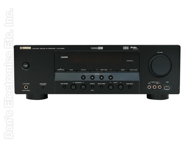 YAMAHA HTR6050 Audio/Video Receiver Audio/Video Receiver