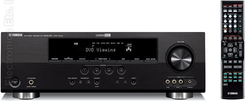 YAMAHA HTR6230 Audio/Video Receiver Audio/Video Receiver