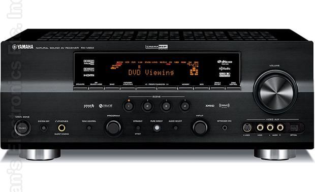 YAMAHA RXV863 Audio/Video Receiver Audio/Video Receiver
