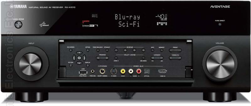 YAMAHA RXA1010BL Audio/Video Receiver Audio/Video Receiver