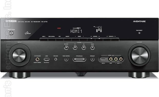 YAMAHA RXA710 Audio/Video Receiver