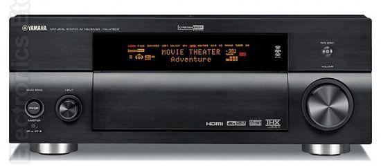 YAMAHA RXV1600 Audio/Video Receiver