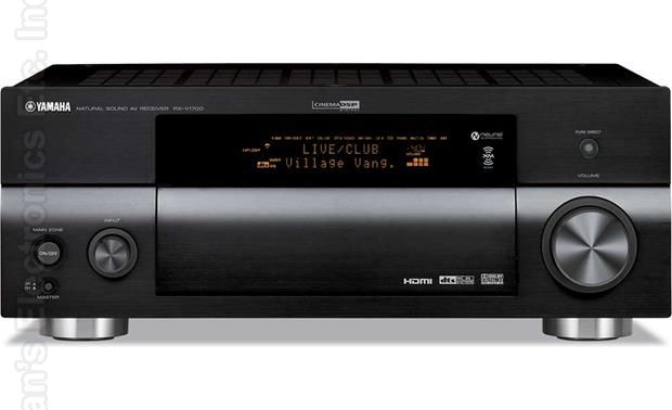 YAMAHA RXV1700 Audio/Video Receiver