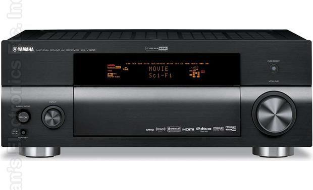 YAMAHA RXV1800 Audio/Video Receiver