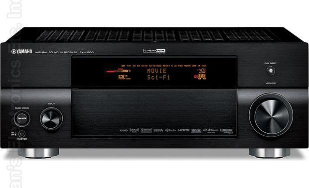 YAMAHA RXV1900 Audio/Video Receiver