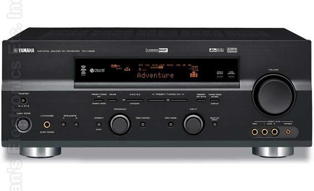YAMAHA RXV559 Audio/Video Receiver Audio/Video Receiver