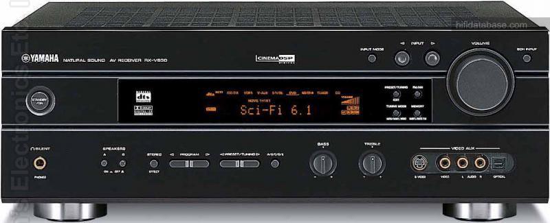 YAMAHA RXV630 Audio/Video Receiver Audio/Video Receiver