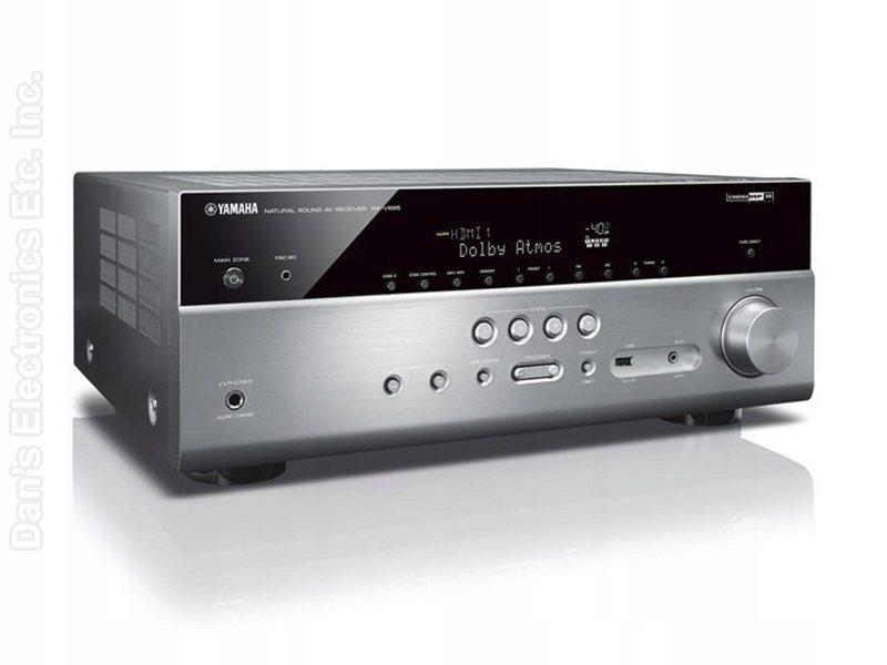 YAMAHA RXV685 Audio/Video Receiver Audio/Video Receiver
