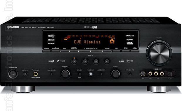 YAMAHA RXV863BL Audio/Video Receiver Audio/Video Receiver