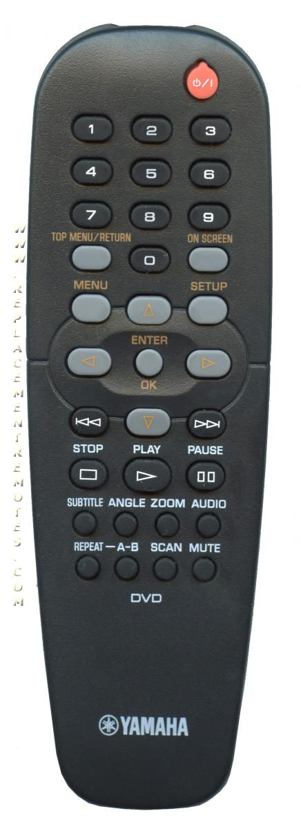 YAMAHA RC2K DVD Player Remote Control