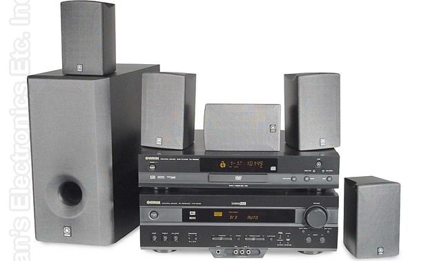 YAMAHA YHT24 Home Theater System