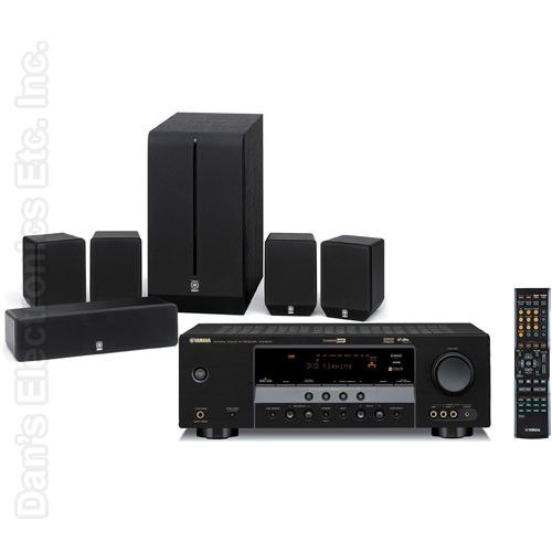 YAMAHA YHT280BL Audio/Video Receiver Audio/Video Receiver