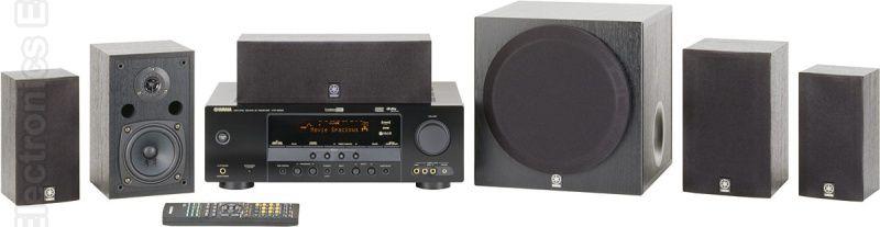 YAMAHA YHT380 Audio/Video Receiver Audio/Video Receiver